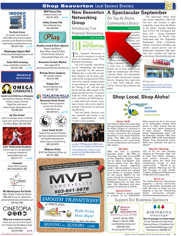 Beaverton Business Directory SM 2